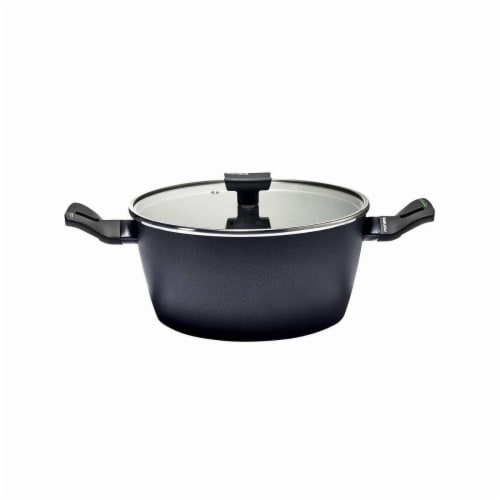 Range Kleen 10 in. 5 qt Nova Induction Dutch Oven with Lid Perspective: front
