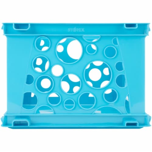 Mini Crate, School Teal Perspective: front