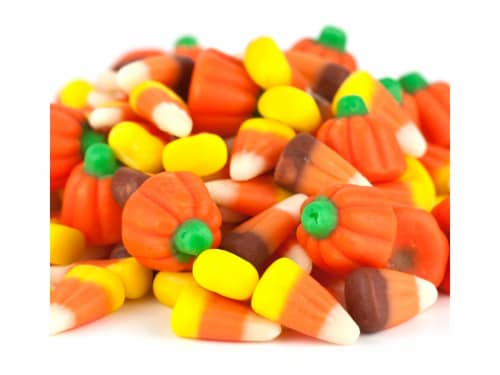 Autumn Mix Mellocreme Mix Fall Halloween candy Mix 1 pound Perspective: front