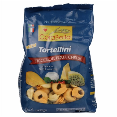 Corablla Tricolor Four Cheese Tortellini Perspective: front