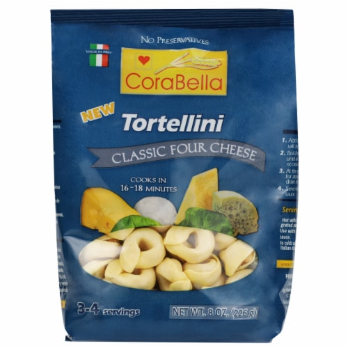Corabella Classic Four Cheese Tortellini Perspective: front