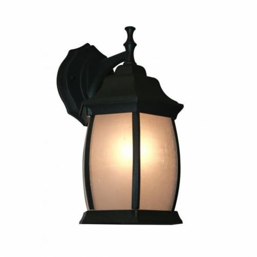 1 Light Outdoor Wall Light T20-BK-F Perspective: front
