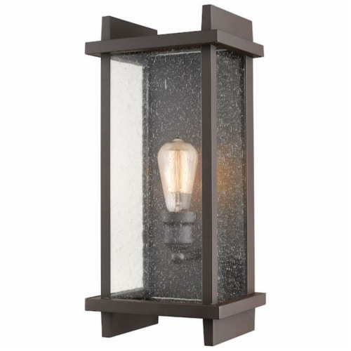 1 Light Outdoor Wall Sconce - 565M-DBZ Perspective: front