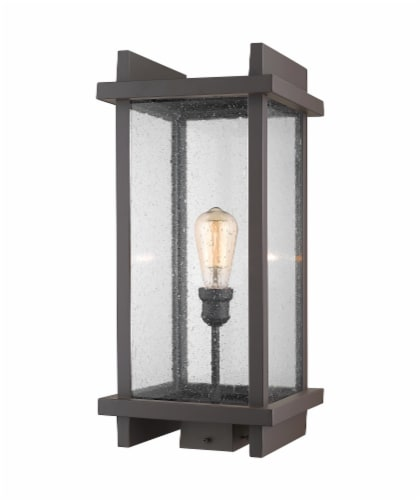 1 Light Outdoor Post Mount Fixture - 565PHBS-DBZ Perspective: front