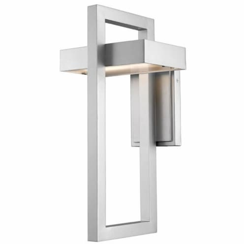 1 Light Outdoor Wall Sconce - 566B-SL-LED Perspective: front