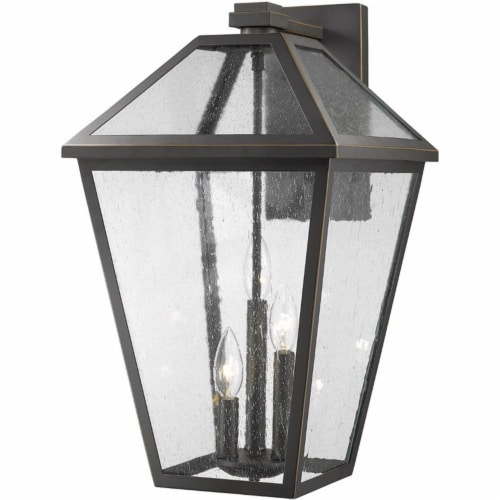 Z-Lite 3 Light Outdoor Wall Sconce Perspective: front