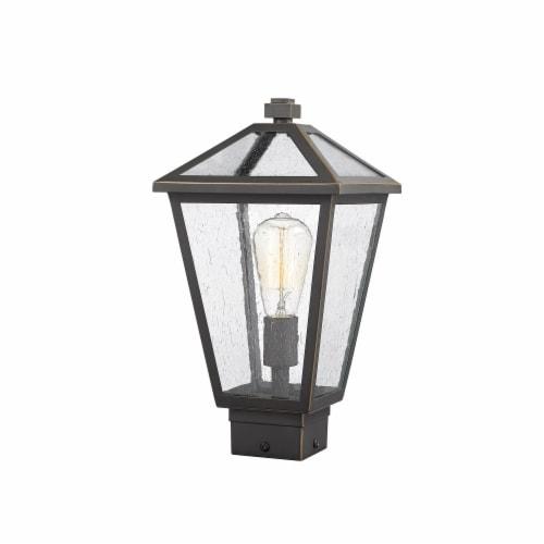 Z-Lite 1 Light Outdoor Post Mount Fixture Perspective: front