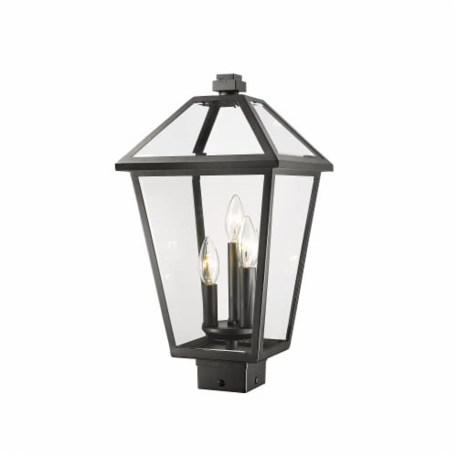 Z-Lite 3 Light Outdoor Post Mount Fixture Perspective: front