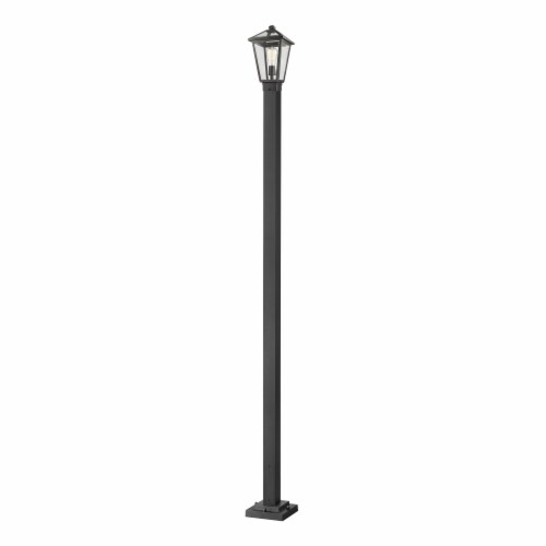 Z-Lite 1 Light Outdoor Post Mounted Fixture Perspective: front