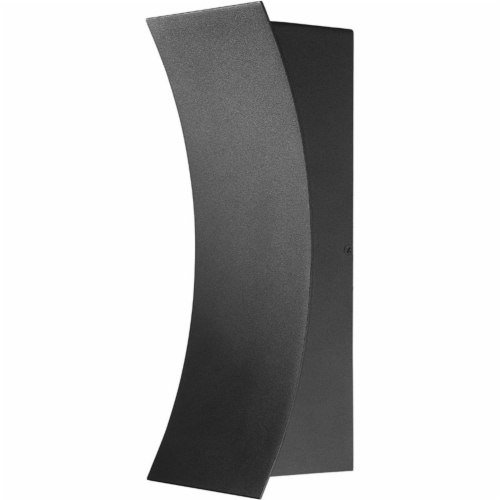2 Light Outdoor Wall Sconce Frame Finish Black Perspective: front