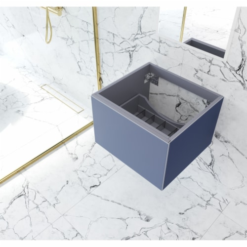 Vitri 24 - Nautical Blue Cabinet Perspective: front