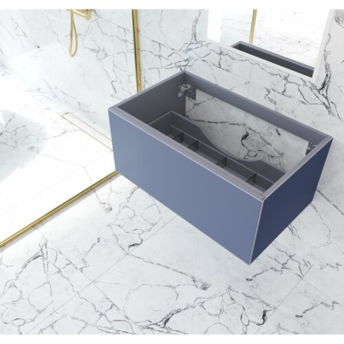 Vitri 36 - Nautical Blue Cabinet Perspective: front