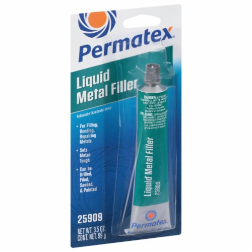 Permatex® Liquid Metal Filler Perspective: front