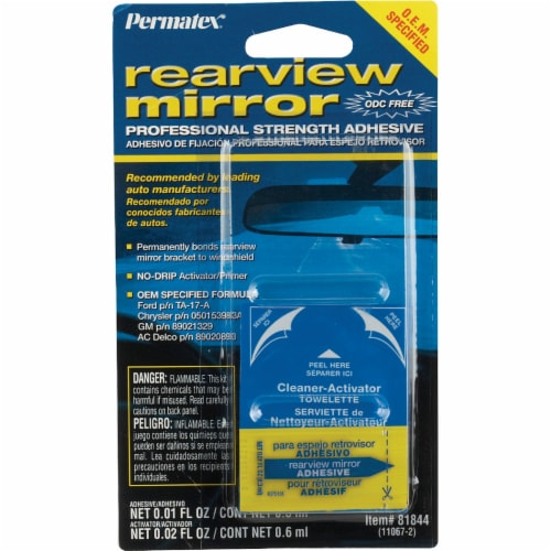 Permatex® Rearview Mirror Professional Strength Adhesive Perspective: front
