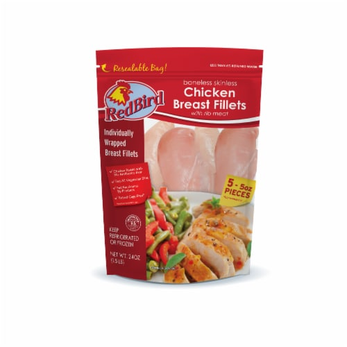 Red Bird Farms Chicken Breast Fillets Perspective: front