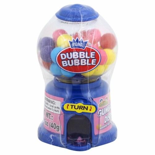 Dubble Bubble Gum Dispenser Perspective: front