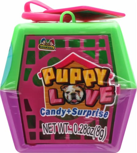 Kidsmania Puppy Love Candy + Surprise Perspective: front