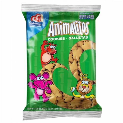 Gamesa Animalitos Animal Cookie Snacks Perspective: front