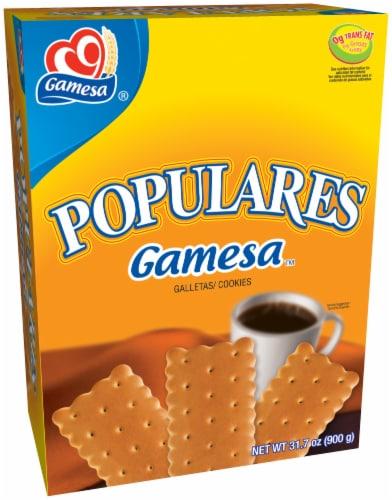 Gamesa Populares Cookies Perspective: front