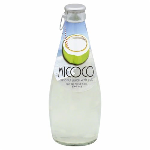 Micoco Coconut Juice With Pulp Perspective: front