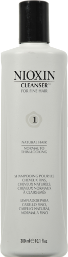 Nioxin 1 Cleanser Shampoo Perspective: front