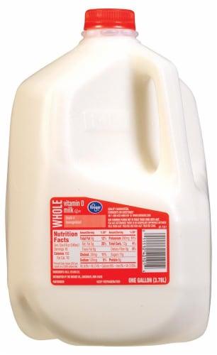 Kroger Vitamin D Whole Milk Perspective: front