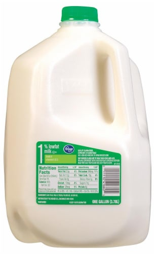 Kroger 1% Lowfat Milk Perspective: front