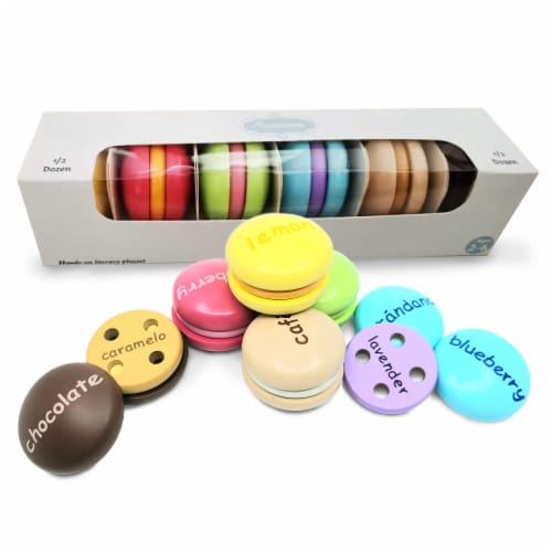 Wordy Macaron English/Spanish Perspective: front