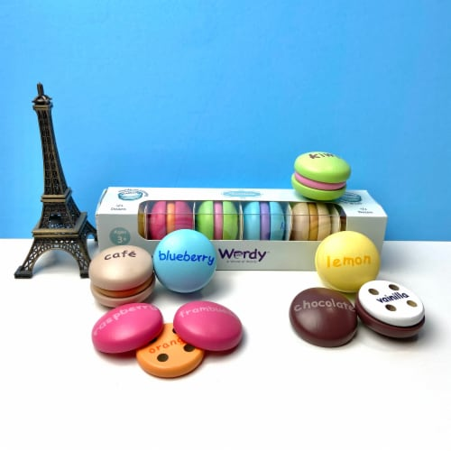 Wordy Macaron English Perspective: front