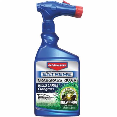 BioAdvanced Extreme 32 Oz. Ready To Spray Hose End Crabgrass Killer 704119A Perspective: front