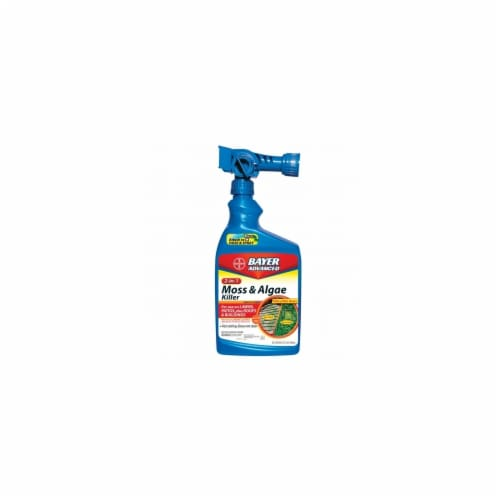 Bayer BAY704710B 2 In 1 Moss & Algae Killer Ready To Spray  32-ounce Perspective: front