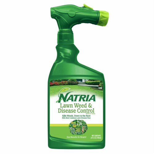 Natria Lawn Weed & Disease Control Perspective: front
