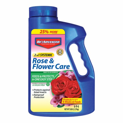 BioAdvanced 2-in-1 Rose & Flower Care Insect Killer Perspective: front
