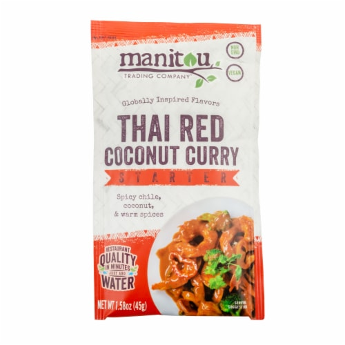 Manitou Trading Company Vegan Thai Red Coconut Curry Starter Perspective: front