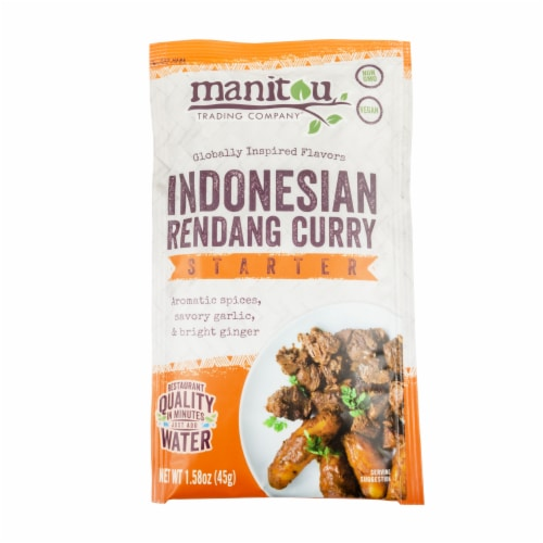 Manitou Trading Company Indonesian Rendang Curry Starter Perspective: front