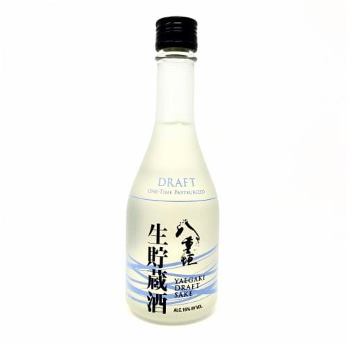 Yaegaki Draft Sake Perspective: front