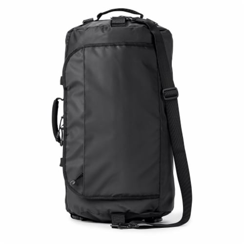 Marin Collection Water Resistant Duffle Black Perspective: front