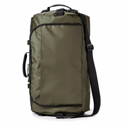 Marin Collection Water Resistant Duffle Green Perspective: front