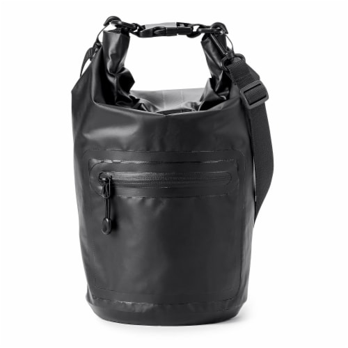 Marin Collection Water Resistant Drybag Black Perspective: front