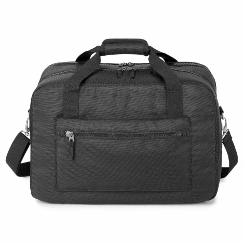 Marin Collection Duffle Bag Black Perspective: front