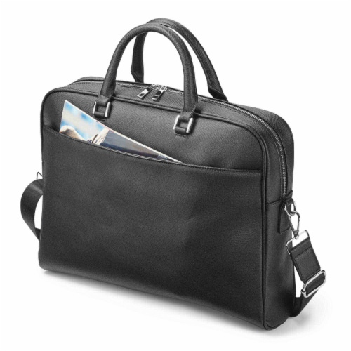 Marin Collection Brief Case Black Perspective: front