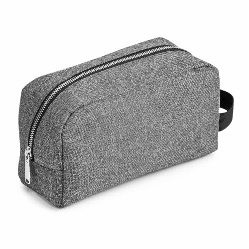 Marin Collection Accessory Case Grey Perspective: front