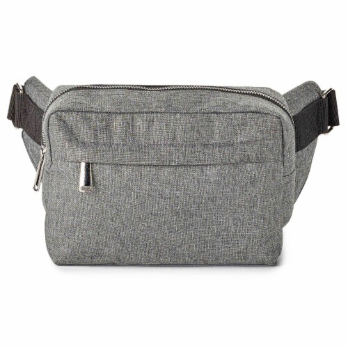 Marin Collection Crossbody Grey Perspective: front