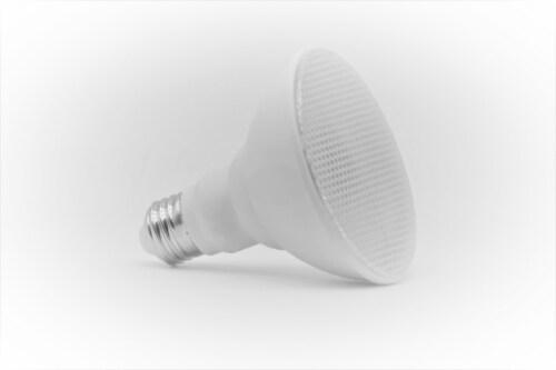 LED RGB PAR30 Bluetooth & Wi-Fi Control 10W 100-277VAC Perspective: front