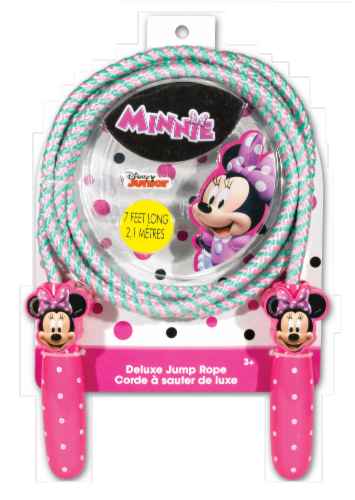 What Kids Want Minnie Mouse Shaped Handle Jump Rope Perspective: front