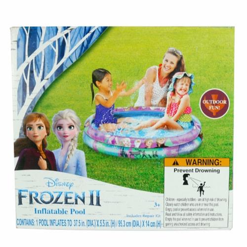 Disney Frozen 2 Inflatable Pool Perspective: front