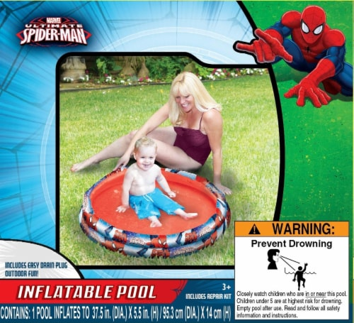 Marvel Spiderman 2 Ring Pool Perspective: front