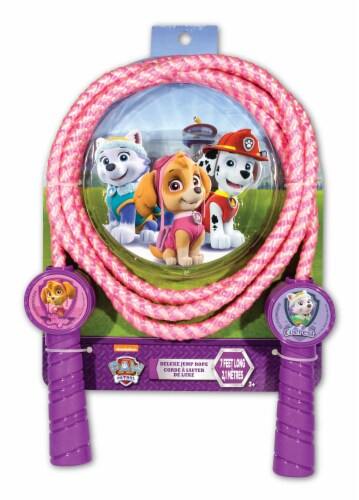 What Kids Want Paw Patrol Shaped Handle Jump Rope Perspective: front