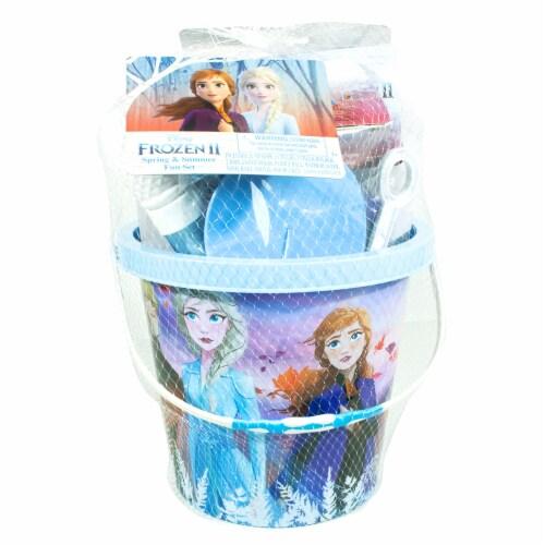 Disney Frozen 2 Spring and Summer Fun Bucket Perspective: front