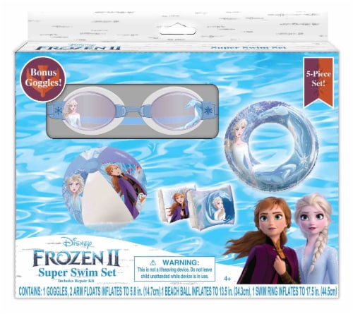 Frozen 2 Inflatable Swim Set - 5 Pack Perspective: front